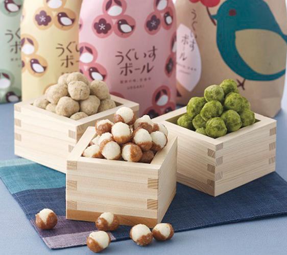 うぐいすボール-和式零食