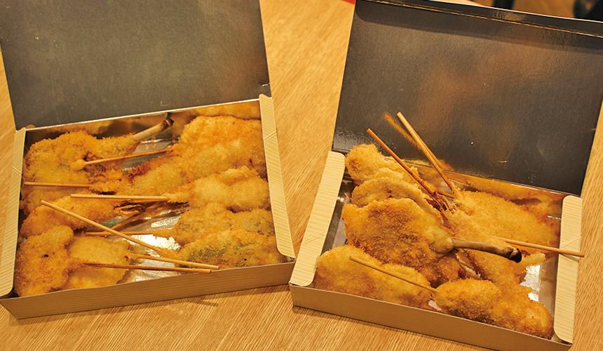 外賣7串套餐/850日圓, 10串套餐/1,200日圓
