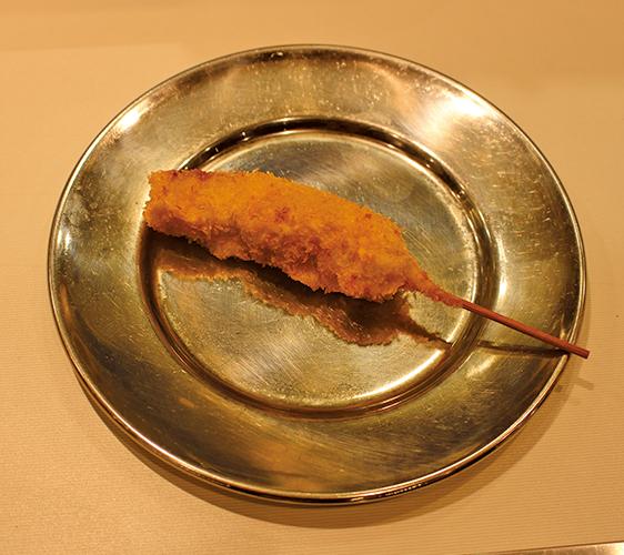 金槍魚串炸   120日圓