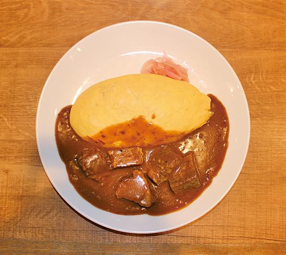咖喱牛肉蛋包飯   1,280日圓