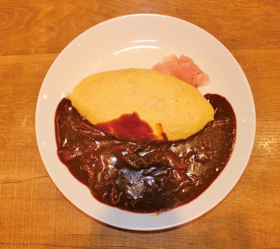 牛肉燴蛋包飯 1,080日圓