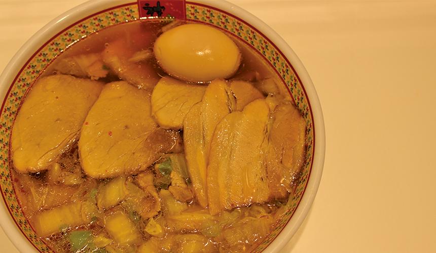 小叉燒滷蛋拉麵/930日圓