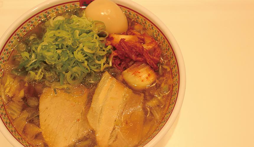 煮蛋蔥花泡菜拉麵/980日圓