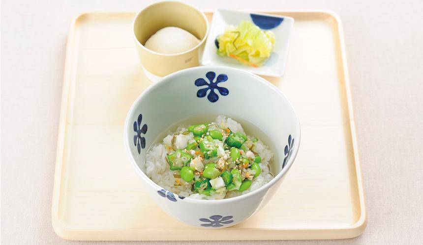漬菜湯泡飯