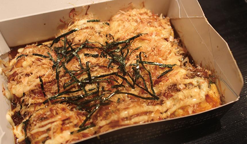 含牛筋的章魚燒(8個)/800日圓