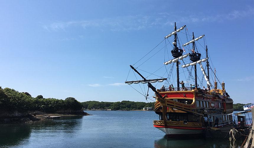 搭上西班牙風帆船「希望(ESPERANZA)」號,乘著海風漫遊英虞灣!
