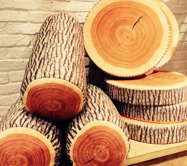 木質感坐墊
