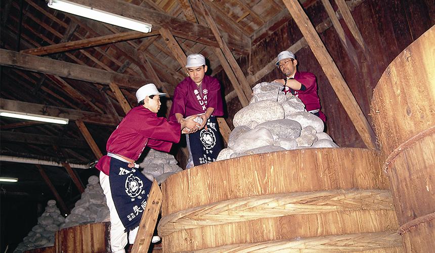 丸屋味噌,可以參觀味噌製作過程 圖片來源:岡崎市