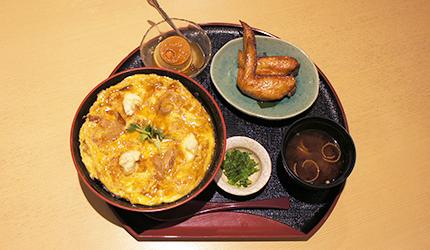 名古屋親子丼與炸雞翅套餐