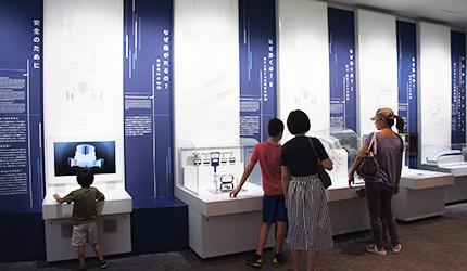磁浮列車運作原理的展示區