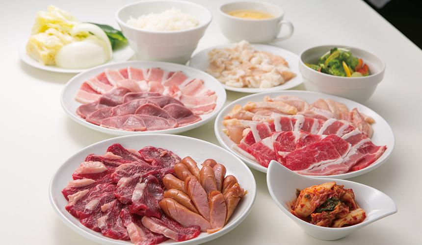 燒肉午餐吃到飽套餐/1,980日圓