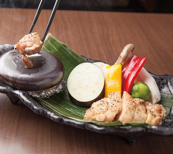 大山雞野菜陶板燒