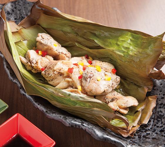 招牌菜!香葉燒烤雞肉