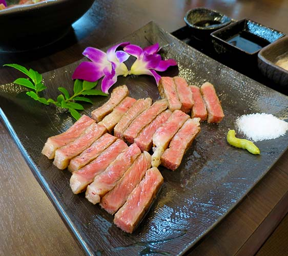 肉星松阪牛肉串不需任何調味料