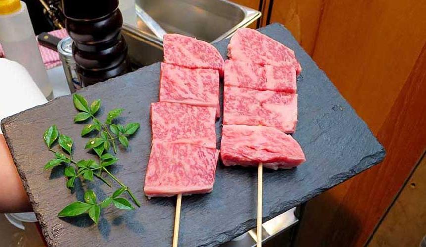 肉星的松阪牛肉雪花脂肪多汁