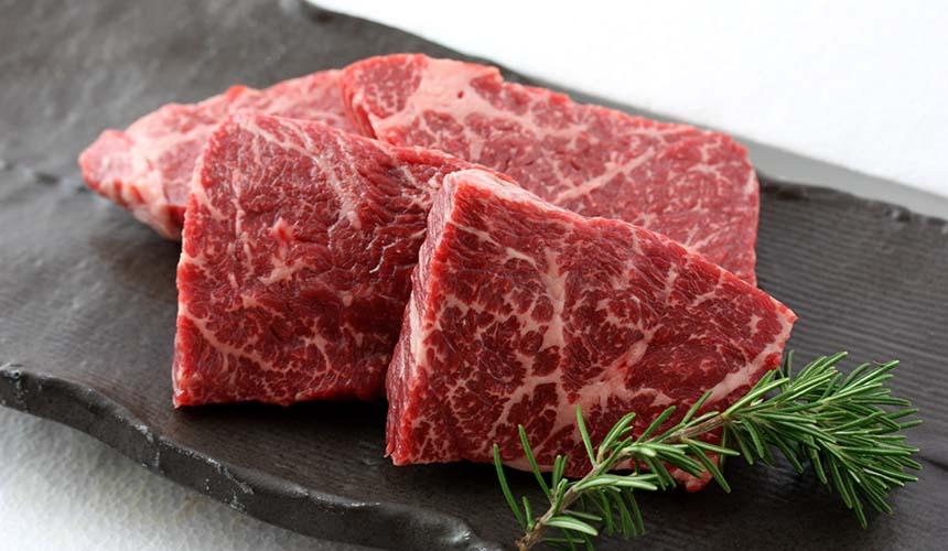 肉星的松阪牛肉雪花脂肪入口即化
