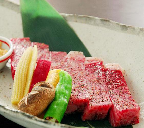 竹取亭的神戶牛