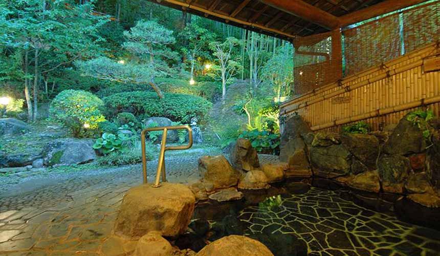 竹取亭円山大眾浴池的銀泉
