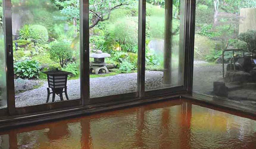 竹取亭円山大眾浴池的金泉