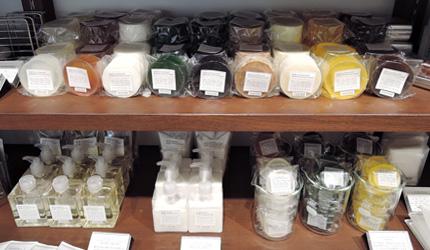MARKS&WEB店內最有人氣的植物皂