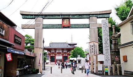 大阪四天王寺日本最古老的寺廟