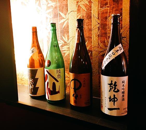 大阪難波一八屋的日本酒