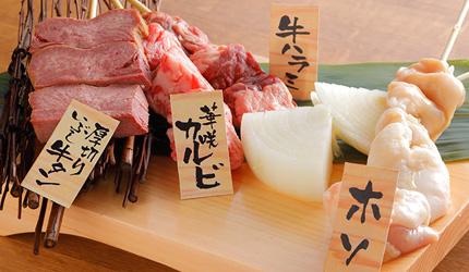 KYOTO TOWER SANDO B1美食大街的串燒概念店「弘」