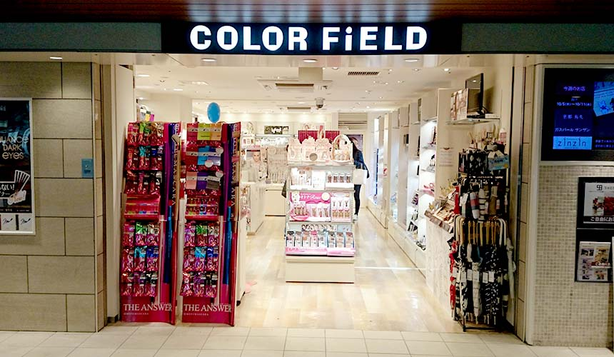 ekimo難波人氣藥妝店COLOR FiELD