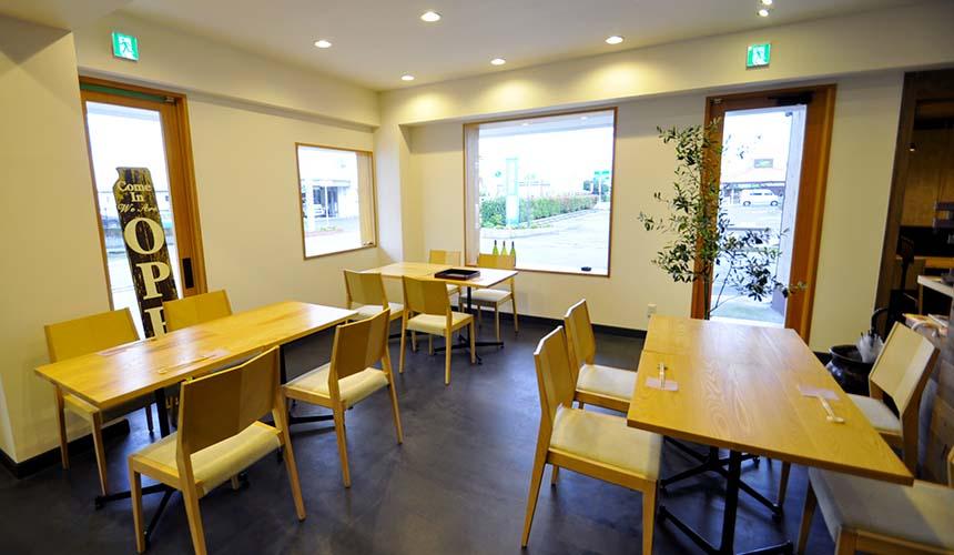 淡路島和食餐廳IKOI店內