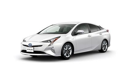 日本山陽山陰岡山自駕租車推薦「TOYOTA Rent a Car」的車款「PRIUS」