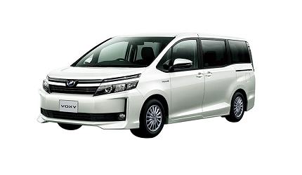 日本山陽山陰岡山自駕租車推薦「TOYOTA Rent a Car」的車款「VOXY」