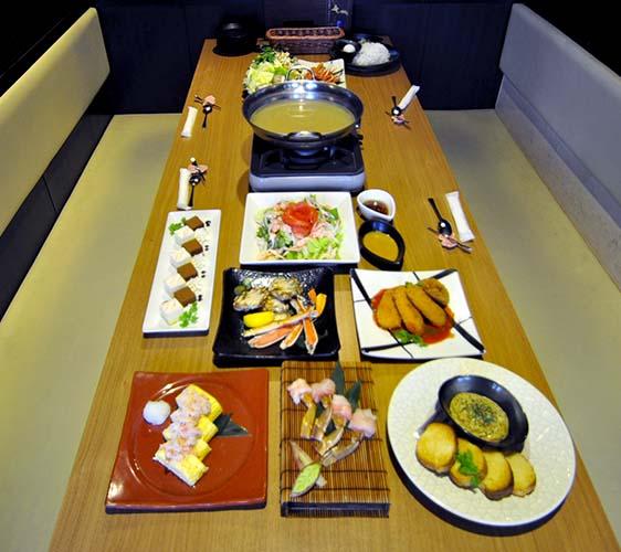 大阪道頓堀「蟹櫻」的蟹櫻經典人氣套餐
