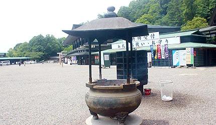 日本岡山最上稻荷香爐