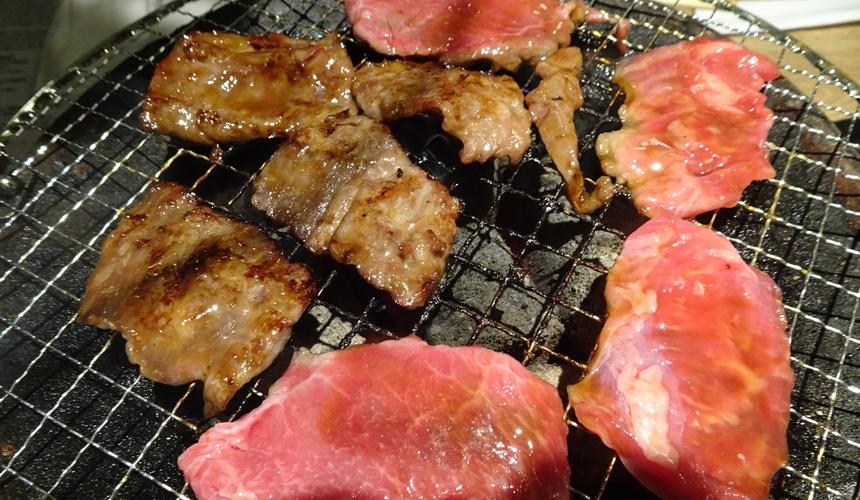 大阪心齋橋的黑BEKO屋的燒肉