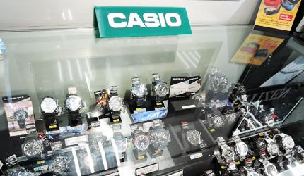 愛電王販售的Casio的手錶