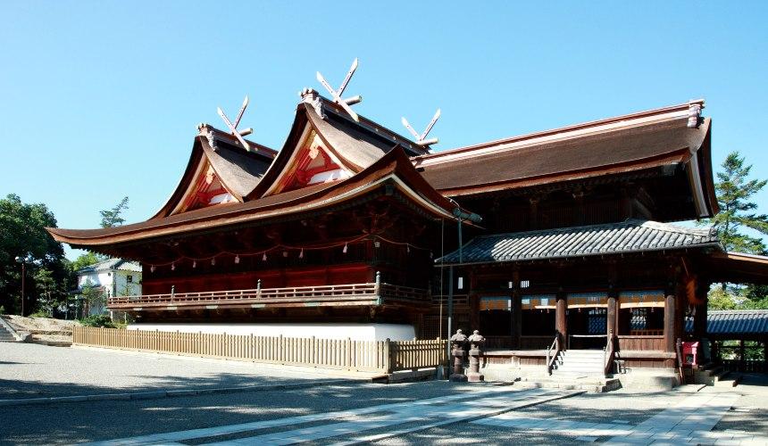 日本山陽山陰岡山自駕租車推薦「TOYOTA Rent a Car」,開車去「吉備津神社」遊玩