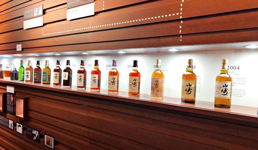 山崎威士忌的包裝演變