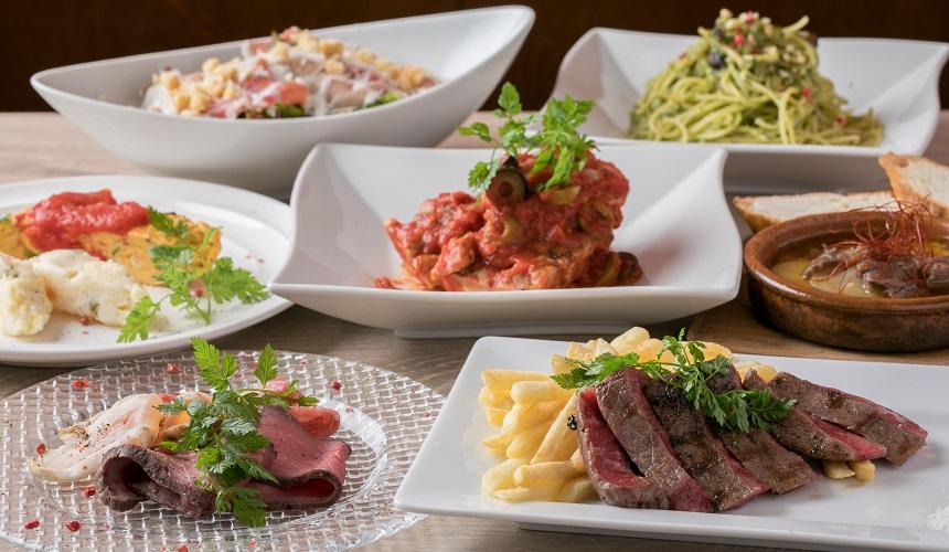 神戶牛料理宴會套餐示意圖