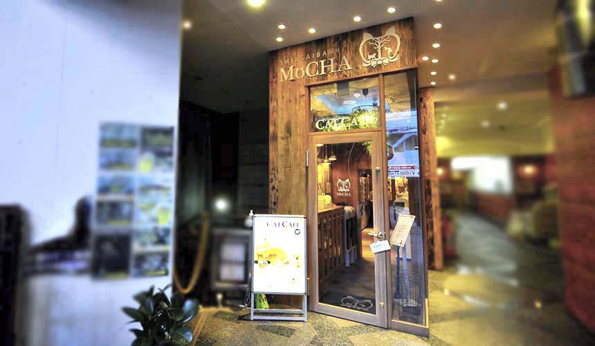 MOCHA 大阪心齋橋店門口