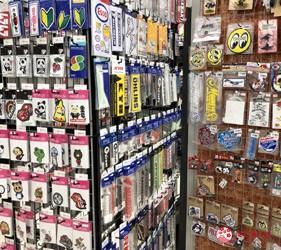 大阪機車部品店「Bike World」標籤貼紙