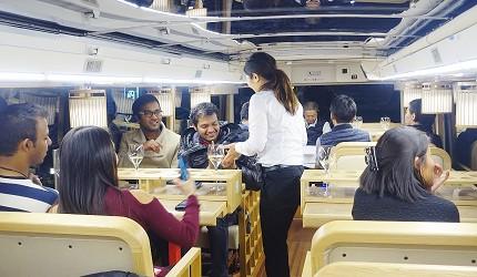 Willer Express「京都餐廳巴士」服務人員