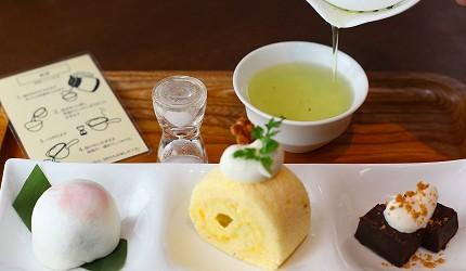 Willer Express「京都餐廳巴士」伊右衛門沙龍精緻茶菓