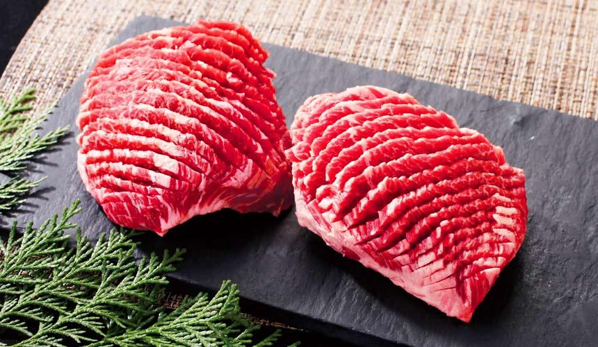 京都河原町燒肉店「あぶりや」的特等橫隔膜(上ハラミステーキ)