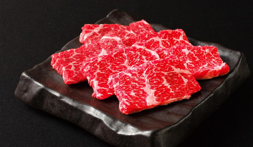 京都河原町燒肉店「あぶりや」的特等燒肉(上ロース)