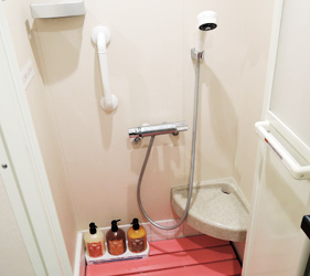 大阪⇌九州交通推薦:「名門大洋渡輪」上的獨立淋浴間