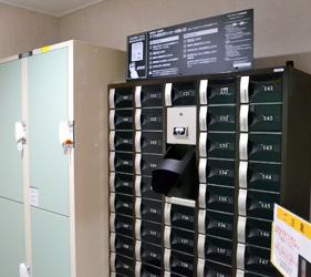 大阪⇌九州交通推薦:「名門大洋渡輪」上也有保管箱供寄放貴重物品