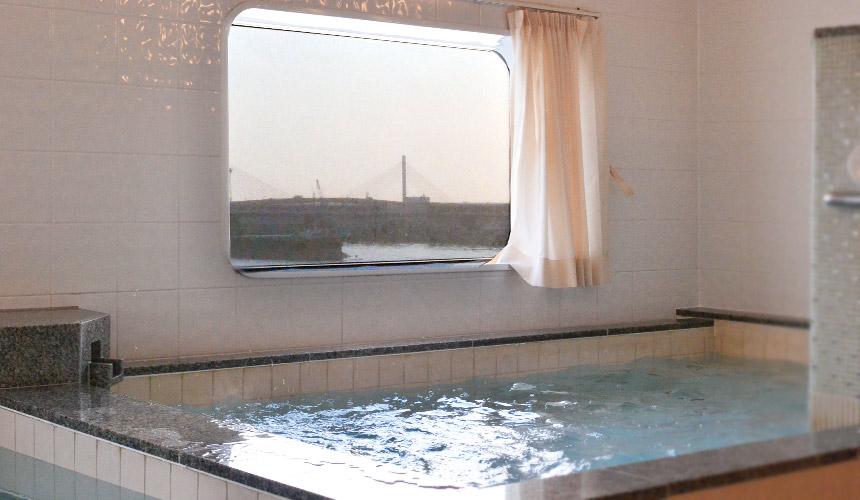 日本自由行大阪⇌九州交通推薦!「名門大洋渡輪」的澡堂