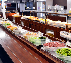 大阪⇌九州交通推薦:「名門大洋渡輪」上自助餐選擇多元