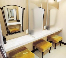 日本自由行大阪⇌九州交通推薦!「名門大洋渡輪」的女性專用化妝室