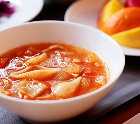 最推薦的料理紅味噌雜菜湯